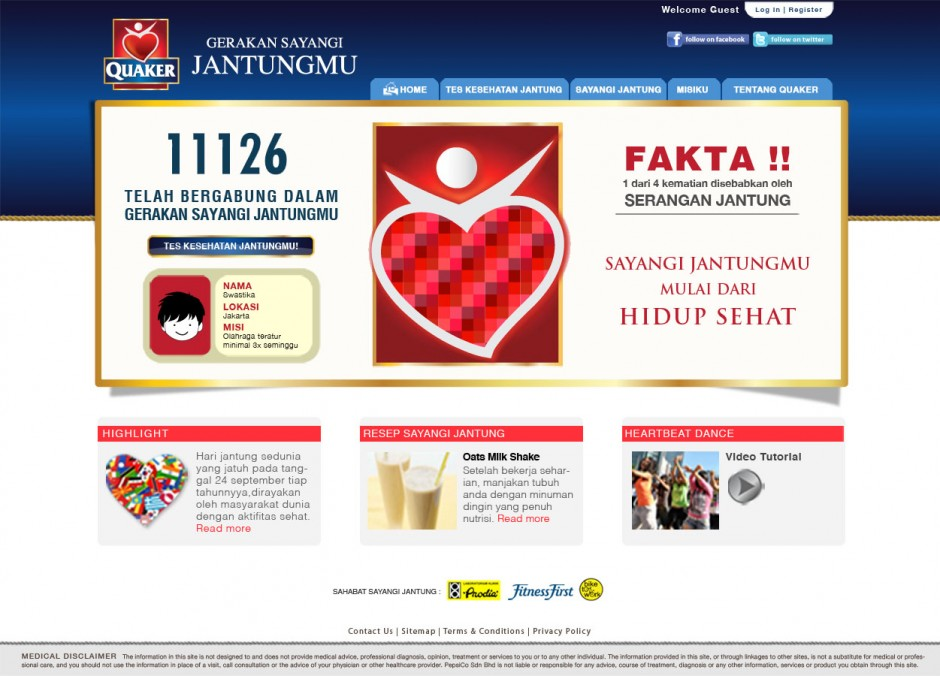 Quaker Oats - Homepage