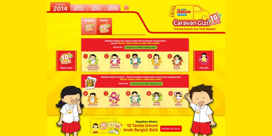web dancow caravan gizi 2
